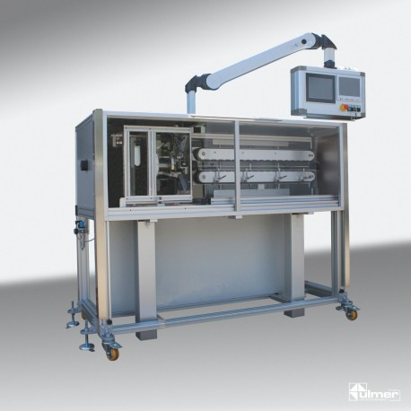Corrugated tube cutting machine WSM60 ESB
